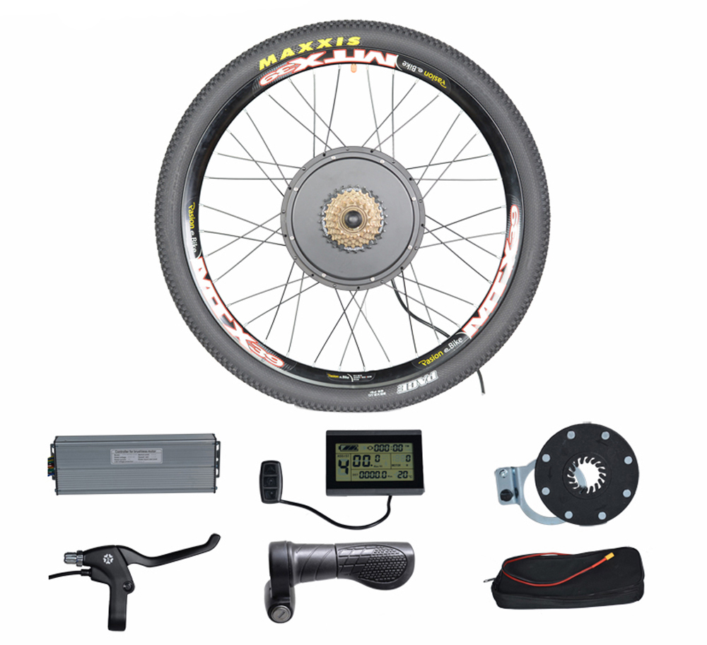 1500W 48V Motor Electric Bike Kit Electric Bicycle Conversion Kits for 20