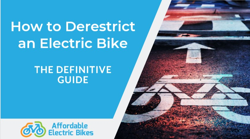 How to Derestrict an Ebike