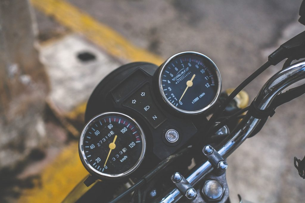 Electric Bike Speedometer