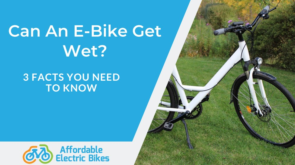 Can An E-Bike Get Wet?